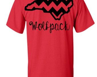 NC State Chevron Wolfpack