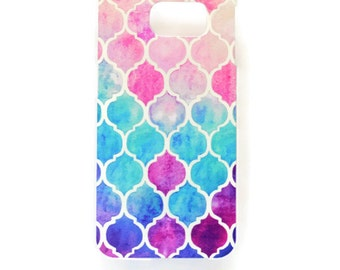 iPhone 6 Geometric Pattern Case Hard Plastic Moroccan iPhone 6 Plus Back Cover Mosaic Tile iPhone 6 Cover