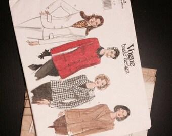 Vintage Vogue Pattern - 1643 - 1990s