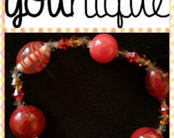 Beaded bracelet - stretch