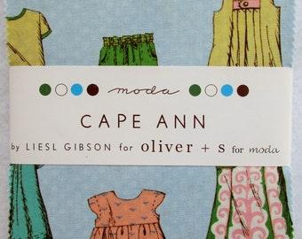 Moda Charm Pack ~ Cape Ann