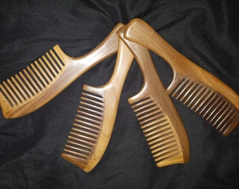 Luxury Wooden Combs - For ALL Hair Types
