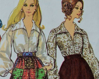 Vintage Simplicity 8550 Sewing Pattern Women 1960's