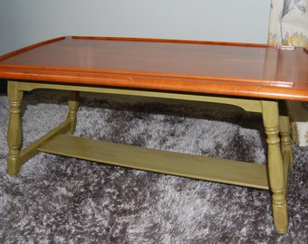 Early American Solid Wood Coffee Table