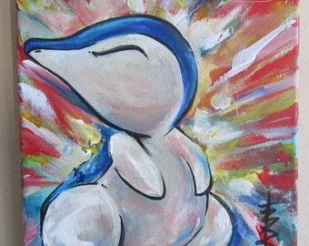 Pokemon- Cyndaquil Painting