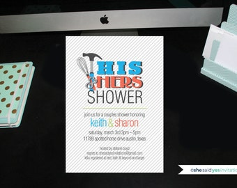 His & Hers Couple Shower
