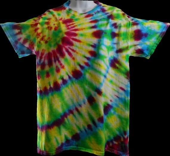 Beautiful Tie Dyed T-Shirt. Hand dyed with fiber reactive dyes