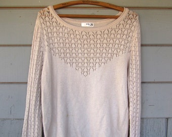 Soft Cream Sweater
