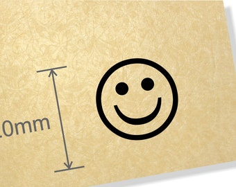 Clear Acrylic stamp, smiley face stamp