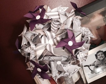 Simple Pinwheel Bouquet