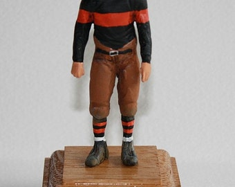 1925 Providence Steam Roller American Football Figure. Hand painted metal figurine 1/24th scale