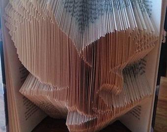 "Book folding pattern""Eagle"""