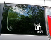 Best Life Ever Car Decal // Car Vinyl Decal // This is the Best Life Ever / Motherhood Car Decal // Mommy Car Decal / Best Life Decal