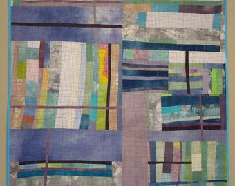 Textile Wall Art Color Series Quilt-Purple #1