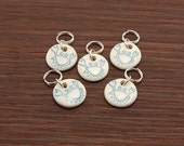 Blue Crabby Stitchmarkers