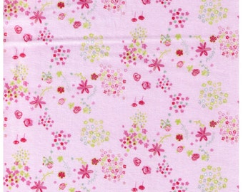 HALF YARD Creative Thursday - The Tinies - JG-50200-201A - Flowers on White - Cotton Sheeting