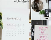 """Online Art Class """"Intro To Hand Lettering"""""""