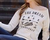 pullover sweatshirt. comfy sweatshirt. super soft. motivational saying. new. ellembee. womens sweatshirt.