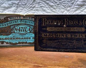 Vintage Paper Boxes