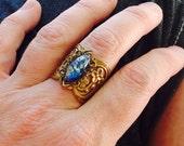 oO MORGAN Os splendid medieval ring