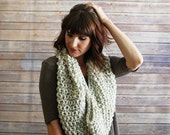 The Corella + Chunky Knit Infinity Scarf + Made to Order