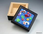 SALE Koi Pond Mini Box in Polymer Clay Cyber Monday Black Friday Sale