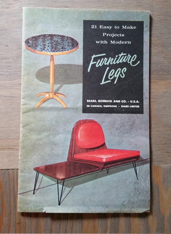 Modern Furniture Legs Project Booklet 21 Easy To Make