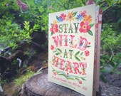 2016 Planner | Stay Wild At Heart | Calendar | Pocket Diary | Katie Daisy