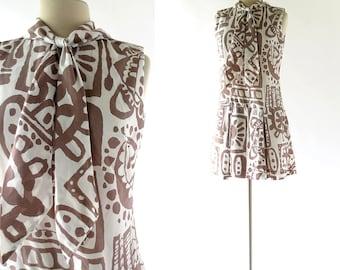 Vintage Scooter Dress | Bici e Baci | 1960s Dress | 60s Vintage Dress | S M