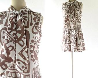 60s Scooter Dress | Bici e Baci | 1960s Dress | S M