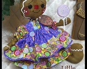 """Primitive Raggedy NEW """"SPICE"""" Gingerbread Collection! 12"""" doll w/~lollipop!"""