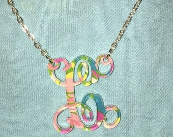 CLEARANCE Initial Designer Inspired Necklace
