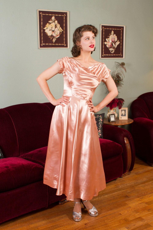 Blush Gold Dress
