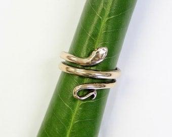 Bronze Snake Ring 382