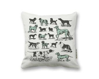 Dog Breeds Pillow