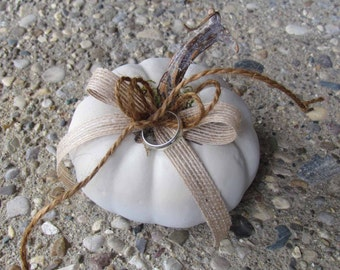 White Pumpkin for your Ring Bearer
