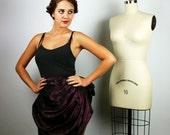 Bustle, Taffeta Bustle, Steampunk Bustle, Purple Bustle, Women's Costume, Women's Steampunk, Gothic Victorian