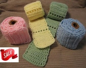 SALE Scarf, Toilet Paper, Colored, Ready to Ship