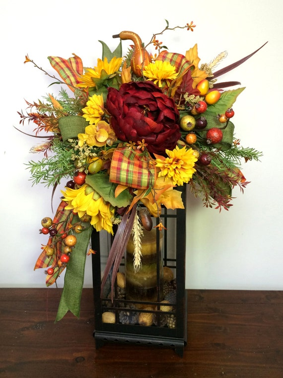 Decorating Ideas > Fall Lantern Swag Autumn Swag Fall Decor Thanksgiving Table ~ 072643_Thanksgiving Lantern Decorations