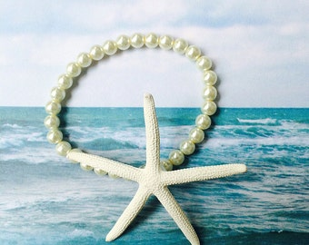 Pencil Starfish Wrist Corsage Bracelet