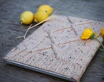 Knit Laptop Case // Heathered Laptop Sleeve // MacBook Pro laptop case // Mac Book case // Gift