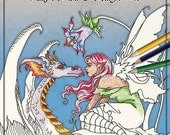NEW Coloring Book 5 Fairy Fantasy by Amy Brown