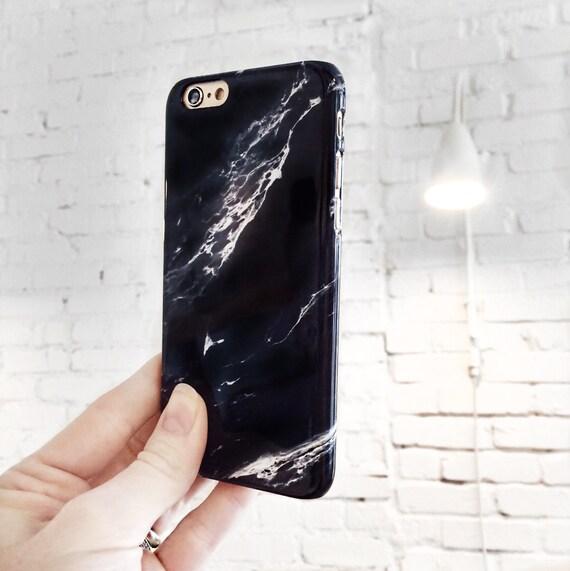 Phone Case Marble IPhone 7 Plus Black 8