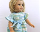 18 Inch Doll Dress, Doll Clothes, Knit Doll Outfit