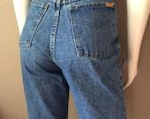 Vintage Women's 80's Jordache, Skinny Jeans, High Waisted, Denim (M/L)