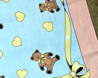 Vintage 80s Teddy Bear Bandana