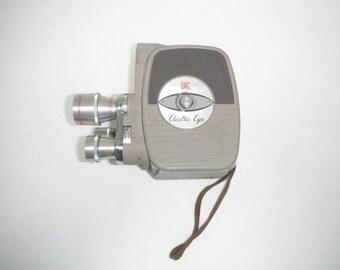 Keystone 8mm Electric Eye Movie Camera