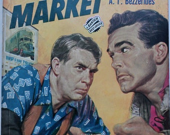 THIEVES' MARKET, Vintage Pulp Noir Fiction, 1950