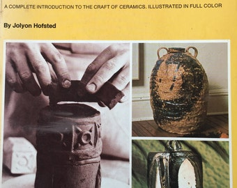 1967 Step-by-step CERAMICS by Jolyon HOFSTED