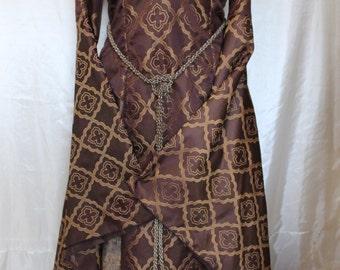 "Bust 40"" Cersei Game of Thrones Dress Renaissance Medieval Maiden Tudor Gown"